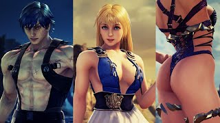 Soul Calibur VI All Armor Breaks(Before and After) Showcase