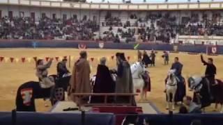 preview picture of video 'El torneo del Rey en la plaza de Teruel 2013'