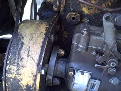 Oliver 770 Industrial Tractor Project Part 99