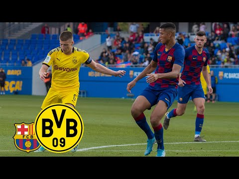 Reyna & Raschl turn the match around!   FC Barcelona U19 - BVB U19 1:2   UEFA Youth League