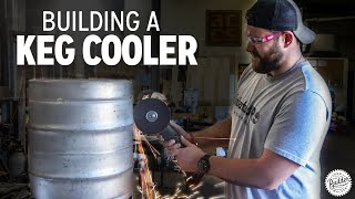 Build A Beer Cooler From A Keg