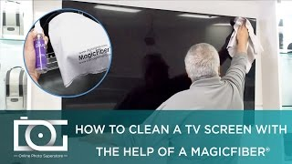 How to Clean an LED, LCD or Plasma TV Screen w/ Best MicroFiber Cleaning Cloth