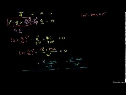 Example 4: Completing the square | Khan Academy