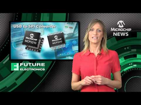 Microchip USB to SPI Bridge Device provides the simplest way to add USB to existing designs