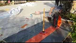 איך להפוך יציקת בטון לרצפה מעוצבת