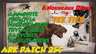 Ark fr patch 254 tek tier 1 nouveaux dinos et cheveux ark prsentation patch 254 tek tier dinos malvernweather Choice Image