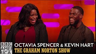 Octavia Spencer & Kevin Hart Were Blown Away By Pres. Obama | The Graham Norton Show | BBC America