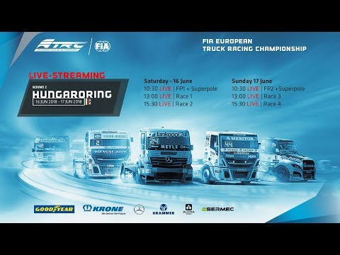 FIA ETRC   #2 Hungaroring 2018   FP2 + Superpole- LIVE