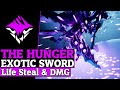 Dauntless Exotic The Hunger - Exotic Builds And Gameplay - Dauntless Patch 0.8.1