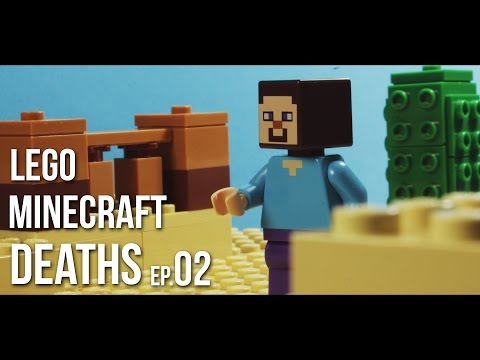 LEGO MINECRAFT DEATHS compilation | EP.02