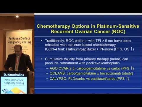 D Karachalios - Systemic chemotherapy in recurrent disease