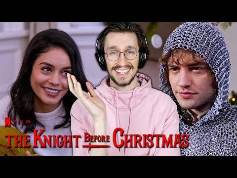 The Knight Before Christmas is an ABOMINATION (that I love)