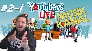 MUSIK KANAL! / MUSIC CHANNEL! - YouTubers Life dansk - Sæson 2 - Ep 1