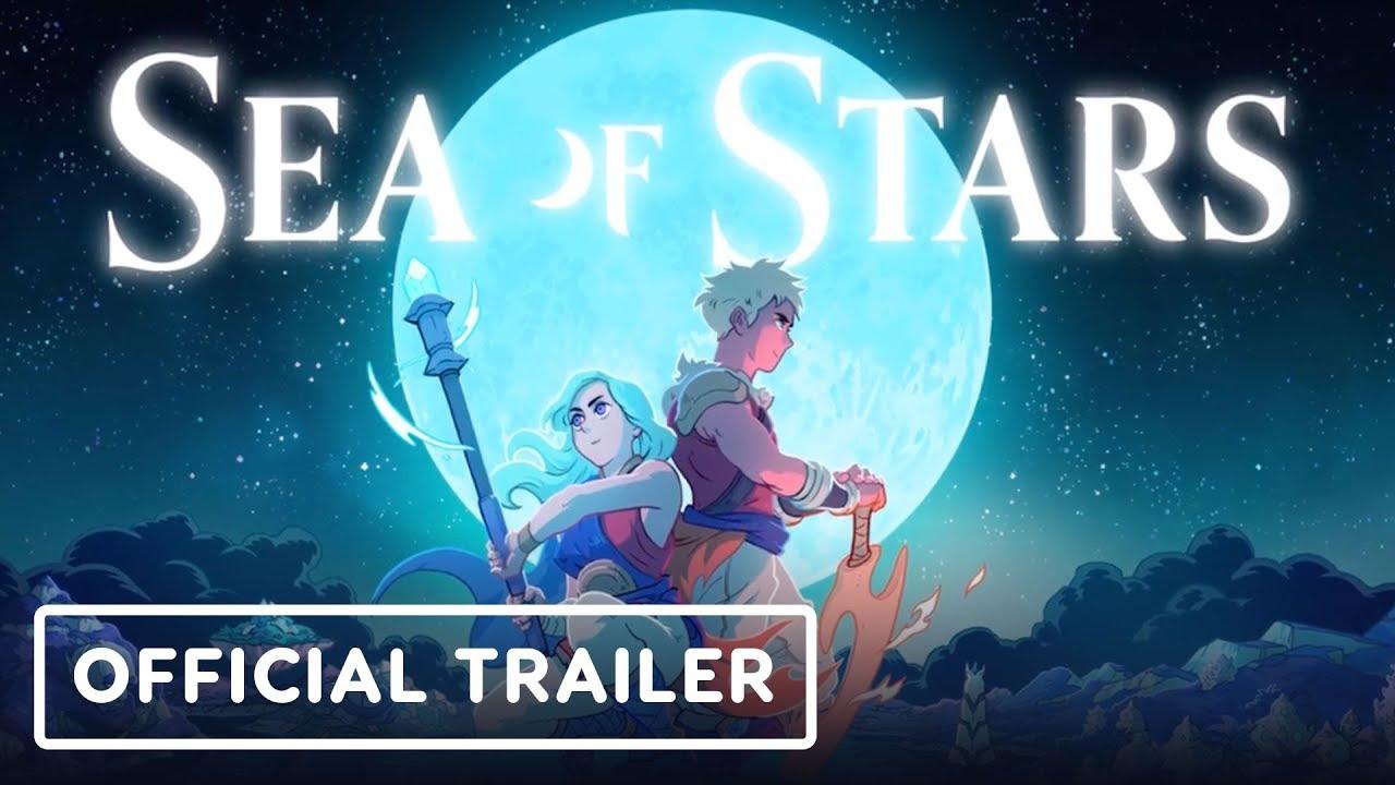 Анонсирующий трейлер игры Sea of Stars