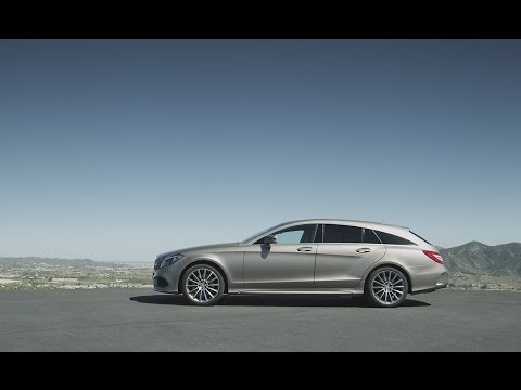 Mercedesbenz Cls Class Shooting Brake Универсал класса C - рекламное видео 1