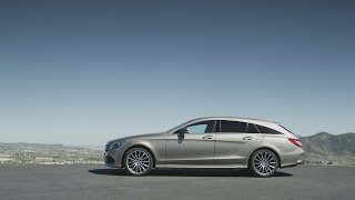 the new generation CLS Shooting Brake.