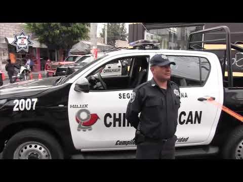 Reforzamos el patrullaje en barrios y colonias de Chimalhuacán