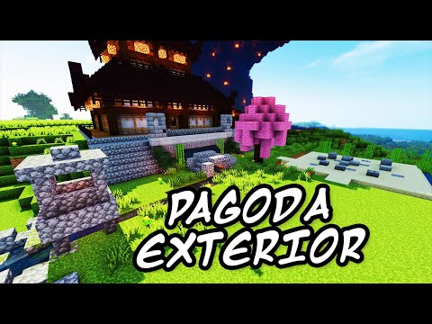 download youtube mp3 minecraft tutorials minecraft tutorial 27 how to build the japanese pagoda exterior hd - Minecraft Japanese Pagoda