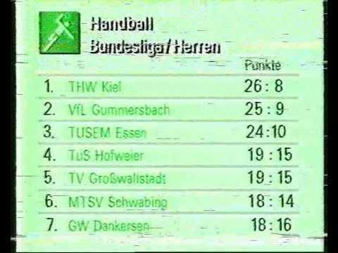 ZDF Dieter Kürten Das aktuelle Sportstudio 09.03.1985