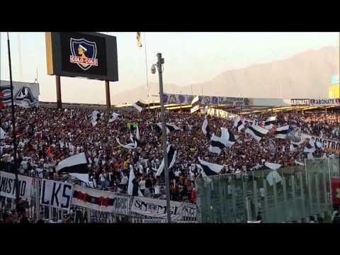 """""""Colo Colo (0) Palestino (0) / Garra Blanca activa y combatiente / 2017"""" Barra: Garra Blanca • Club: Colo-Colo"""