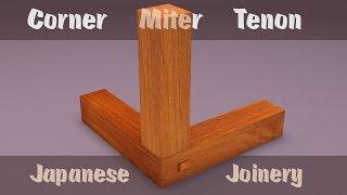Corner Miter Tenon