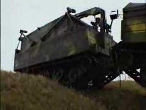 Tajne nagranie radzieckiego pojazdu terenowego