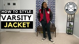 How to Wear a Varsity Jacket | How to Style a Varsity Jacket
