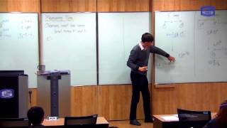 These videos are taken from a lecture course on Modern Physics I taught at the Catholic University of Korea in Spring 2016.In this class we go through three thought experiments which determine the (unique) parameters for the effects of length contraction, time dilation and relative simultaneity which are consistent with the postulates of Special Relativity.First thought experiment: 00:56Second thought experiment: 12:16Third thought experiment: 21:31Calculation of the parameters: 31:05