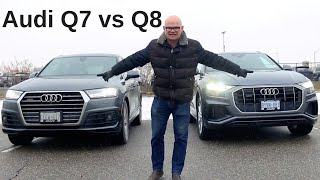 New 2019 Audi Q8 vs Q7 - Which one is best for you?