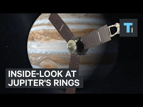 NASA just released the first inside-look of Jupiter's rings
