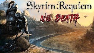 Skyrim - Requiem (без смертей) Орк-самурай  #7 Охотник на скелетов