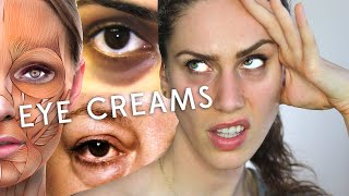 Before Wasting More Money On EYE CREAMS, Watch This. (Why Eye Creams Are Crap)