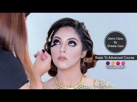 Basic to advance makeup course demo class by Shweta Gaur ...