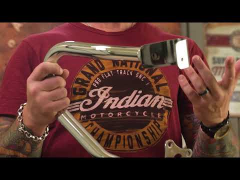 Steel Front Highway Bars in Chrome, Pair - Image 1 of 6 - Product Video
