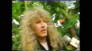 MARK FREE GODS OF AOR 1993 interview + Concert PROMO Part 1
