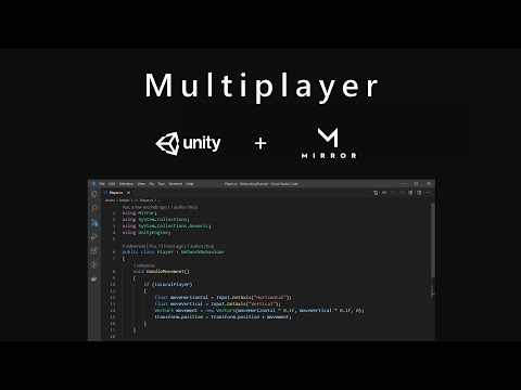How to Build a Multiplayer Game with Unity + Mirror