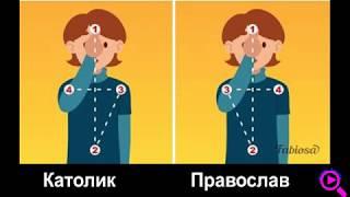 Православные и католики отличие. Материал для самообразования