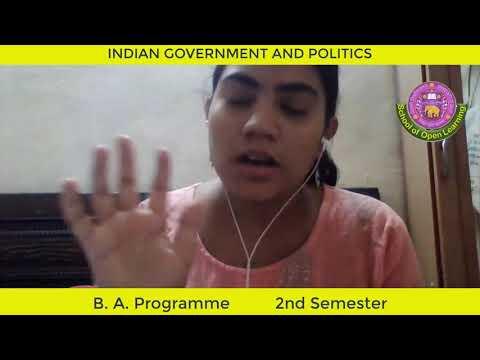 INDIAN GOVERNMENT AND POLITICS (HINDI MEDIUM) By - DR. ALKA