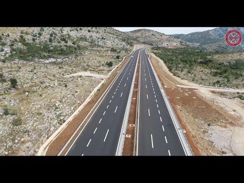 Gradnja autoputa u Crnoj Gori
