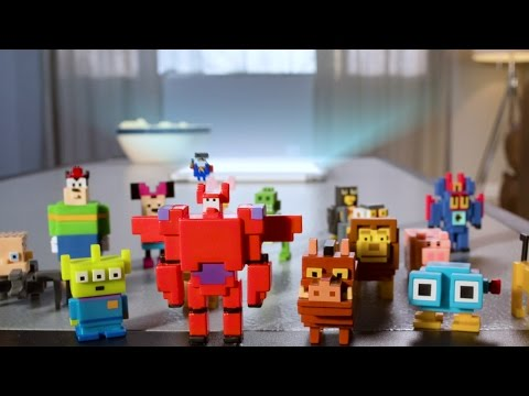 Disney Crossy Road Collectable Toys 15s TV Commercial