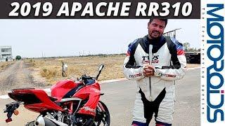 New TVS + BMW concept bike Apache RTR 310 - DrutRider