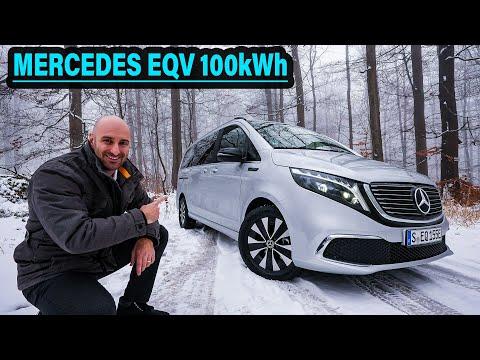 Mercedes EQV: Der ELEKTRO-SUPERMAN mit KRYPTONIT im Gepäck