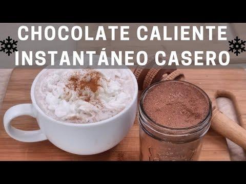Cómo hacer chocolate en polvo - Como hacer chocolate instantáneo