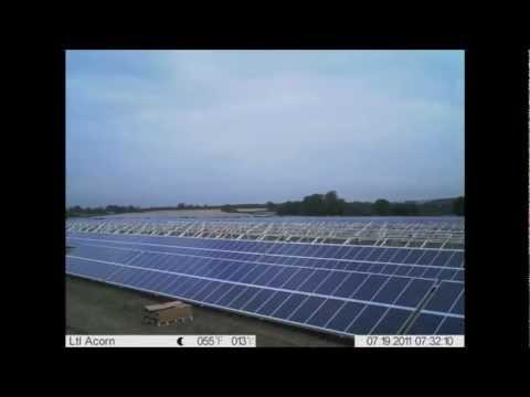 Islip Solar Park Construction