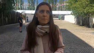 """Prieš """"Eurovizijos"""" finalą – ne itin sėkminga Ievos Zasimauskaitės repeticija"""