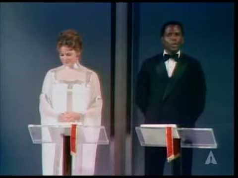 Ingrid Bergman, Sidney Poitier and the UCLA Marching Band: 1969 Oscars