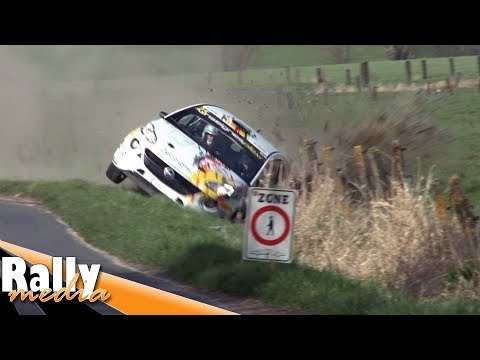 TAC Rally Tielt 2018 - Crashes! - Best of by Rallymedia