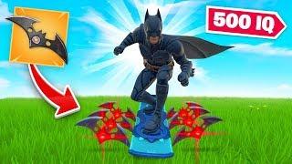 500 IQ BATMAN STRATEGY In Fortnite (very OP)