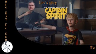 The Awesome Adventures of Captain Spirit [PS4] #2 Captain Spirits Home Base (Let`s play Deutsch)