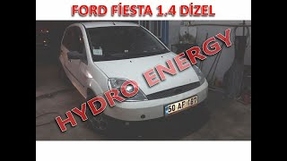 Ford Fiesta 1.4 hidrojen yakıt sistem montajı